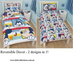 Mickey Mouse Play Single Quilt