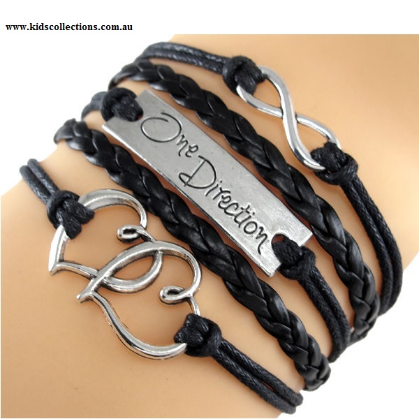 One Direction Jewellery Infinity Black