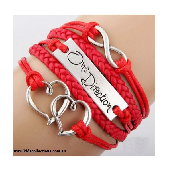 One Direction Jewellery Infinity Red