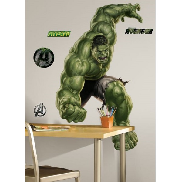 the avengers hulk giant wall sticker kidscollections