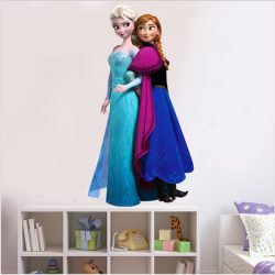 Frozen Sisters Removable Wall Stickers