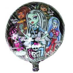 Monster High Round shaped foil balloons