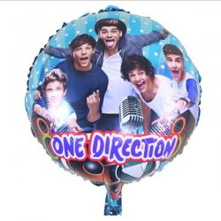 One Direction Round shaped foil balloons