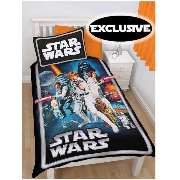 Star Wars Poster Single Quilt Cover