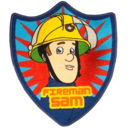 Fireman Sam Brave Shaped Floor Rug