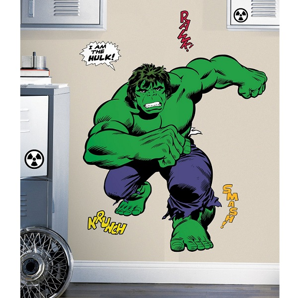 hulk marvel comics avengers classic giant wall stickers online wall decals printing melbourne printroo australia