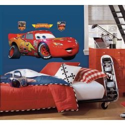 Cars Lightning McQueen Giant Wall Stickers