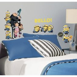 Despicable Me 2 Minions Wall Stickers
