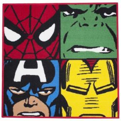 Marvel Avengers Comics Defenders Rug