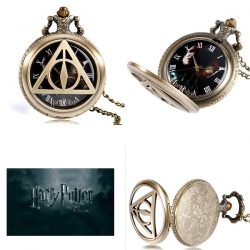Harry Potter and the Deathly Hallows Pocket Watch