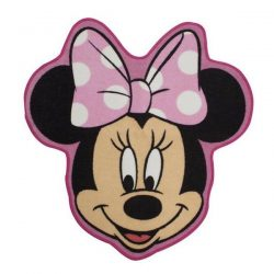Minnie Mouse Makeover Shaped Floor Rug