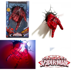 3D Marvel Spiderman Hand Wall Light