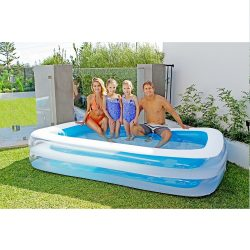 Airtime Inflatable Rectangular Family Pool