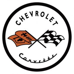 Chevrolet Corvette 53 Metal Tin Sign