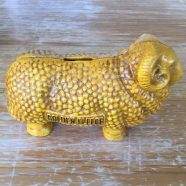 Golden Fleece Cast Iron Coin Bank