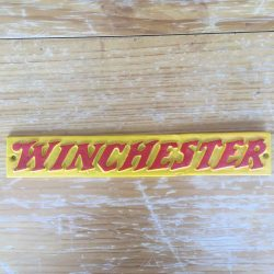 Winchester Plaque Cast Iron Sign