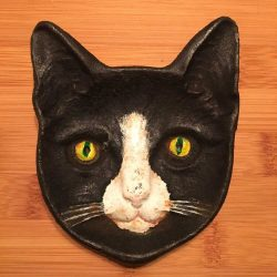 Cat Face Dish