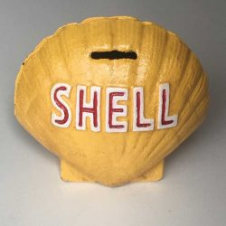 Shell Clam Money Bank