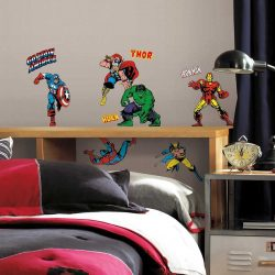 Marvel Comics Avengers Wall Stickers