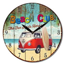 Beach Club Wall Clock