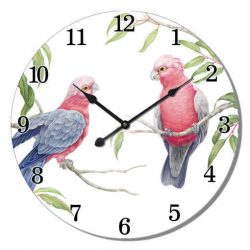 Galah Wall Clock
