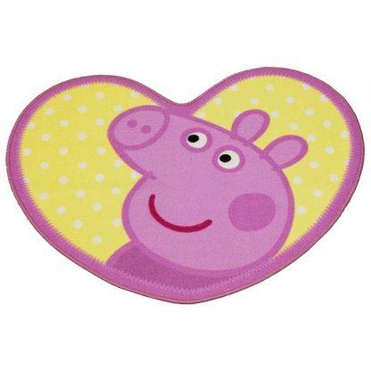 Peppa Pig Head Oink Adorable Rug