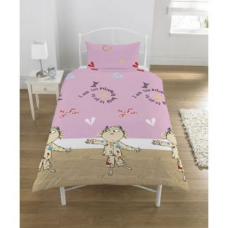 Charlie & Lola Single Quilt Cover