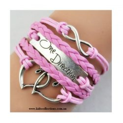 One Direction Infinity Charm Pink