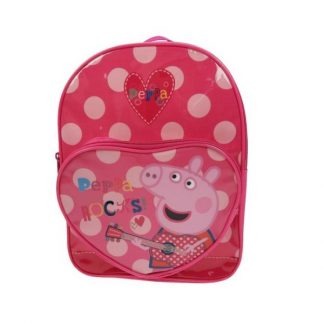 Peppa Rocks Heart Backpack