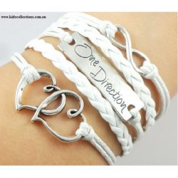 One Direction Jewellery Infinity White
