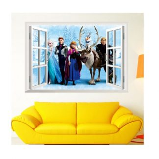 Disney Frozen 3D Wall Sticker