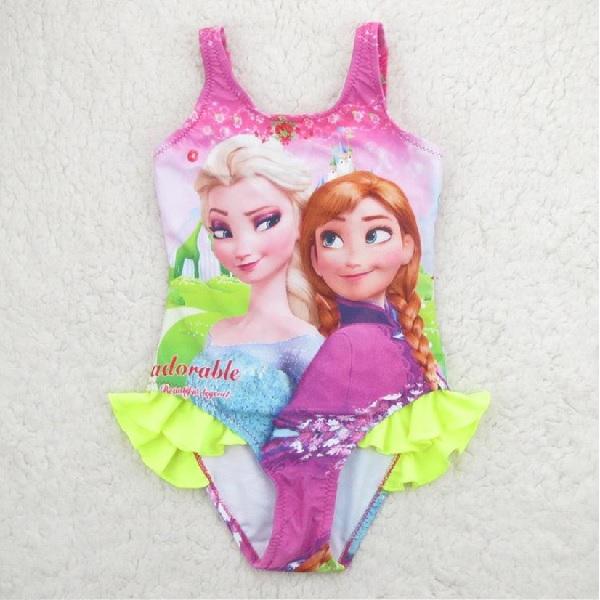 fb75b6b8f1e05 Frozen Anna   Elsa One Piece Bathers - Kidscollections