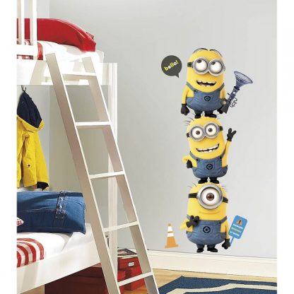 Despicable Me 2 Minions Giant Wall Stickers