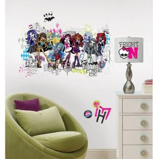 Monster High Group Giant Wall Stickers