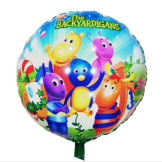 Backyardigans Round shaped foil balloons