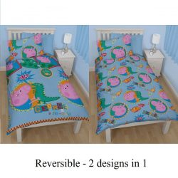 George Pig Peppa Single Quilt Set