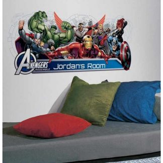 Marvel Avengers Headboard Wall Stickers