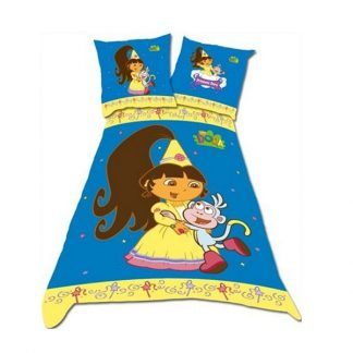 Dora the Explorer Princess Single Quilt