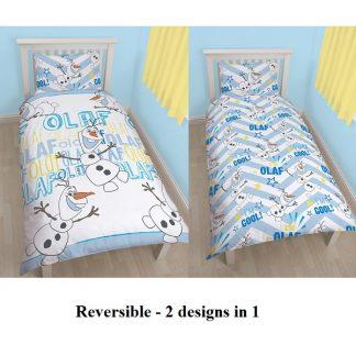 Disney Frozen Olaf Single Quilt