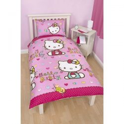 Hello Kitty Single Quilt Cover Set