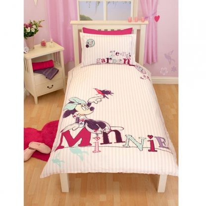 Minnie Mouse Hummingbird Quilt Cover