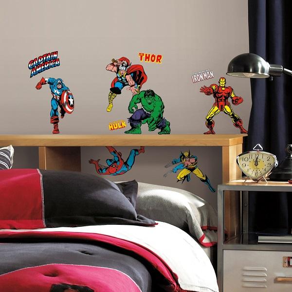 Marvel Comics Avengers Hulk Classics Wall Stickers Part 52