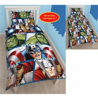 Avengers Shield Single Quilt