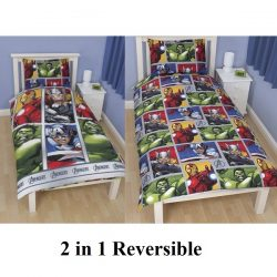 Avengers Team Single Quilt Cover