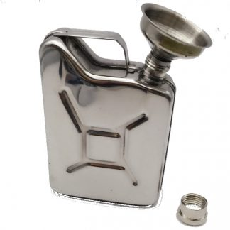 Stainless Steel Jerry Can Hip Flask 6oz
