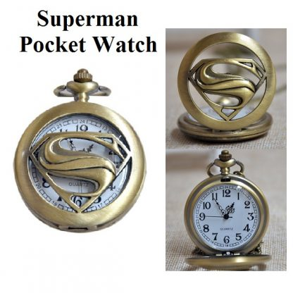 Superman Pocket Watch