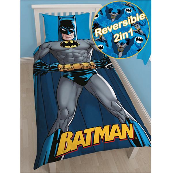 Batman Shadow Single Quilt Cover Kidscollections