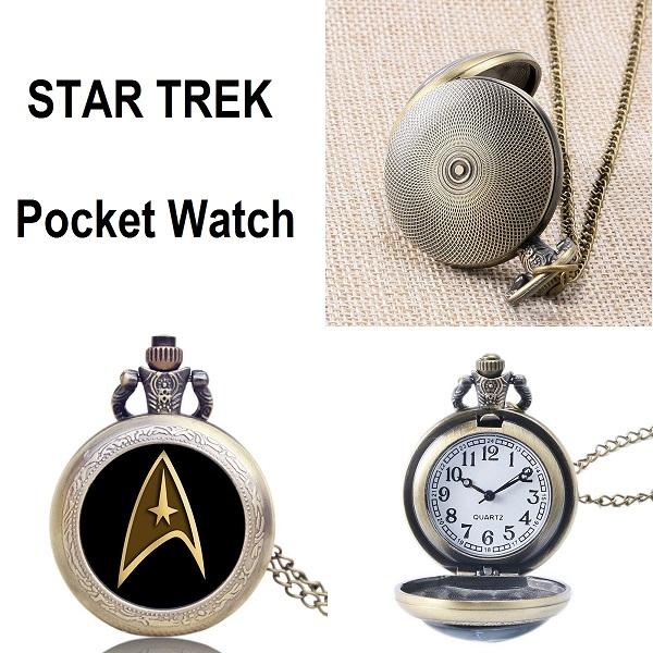 Star Trek Pocket Watch Fantastic Watch For The Fan