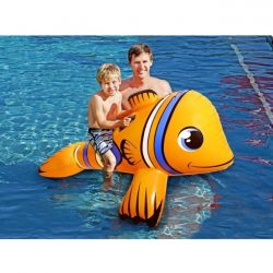 Airtime Inflatable Ride on Clown Fish