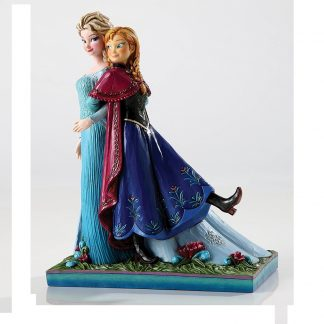 Jim Shore Disney Traditions Elsa Anna Sisters Forever